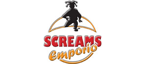 logo screams emporio